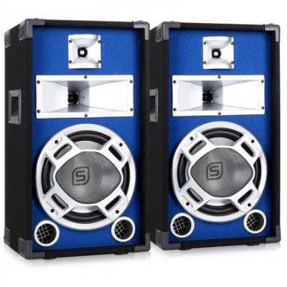 Skytec - Skytec Pár pasivních reproduktorů 2x400W s modrým podsvícením 2x400W - 4260236119426