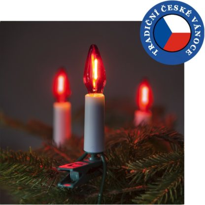 - Souprava Felicia LED Filament červená SV-16