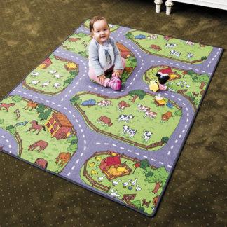 - Vopi Dětský koberec Farma