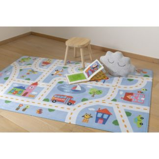 - Vopi Dětský koberec Ultra Soft Kids Play blue