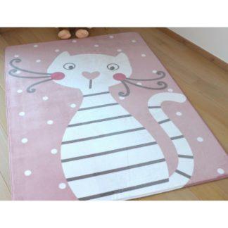 - Vopi Dětský koberec Ultra Soft Kočička