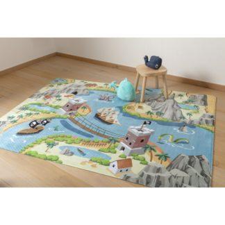 - Vopi Dětský koberec Ultra Soft Tresure Island