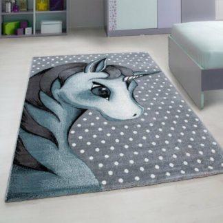 - Vopi Kusový dětský koberec Kids 590 blue - 4058819075920