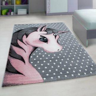 - Vopi Kusový dětský koberec Kids 590 pink