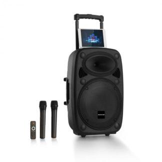 """Auna Pro - Auna Pro Streetstar 12 mobilní PA-zařízení 12 """"subwoofer trolley BT USB / SD / MP3 / AUX - 4260509681490"""