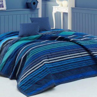 BedTex - BedTex Přehoz na postel Marley modrá