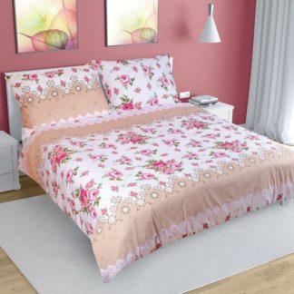 Bellatex - Bellatex Bavlněné povlečení Růže růžová