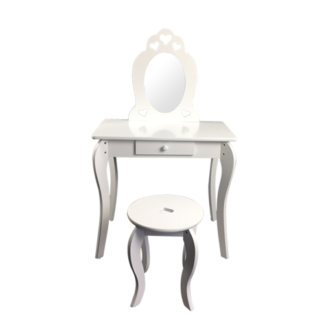 - Dětský kosmetický stolek se zrcadlem Elza