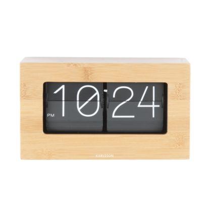 Karlsson - Karlsson 5620WD Designové stolní překlápěcí hodiny - 8714302606120
