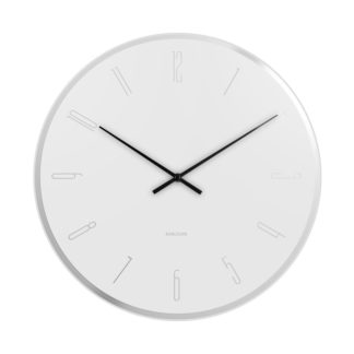 Karlsson - Karlsson 5800WH 40cm nástěnné hodiny - 8714302669200