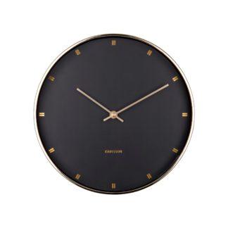 Karlsson - Karlsson KA5776BK nástěnné hodiny - 8714302669767
