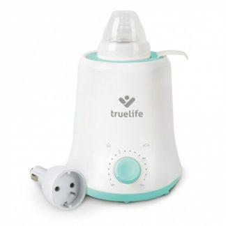 - Ohřívač kojeneckých lahví TrueLife Invio BW Single bílý/zelený - 8594175354003