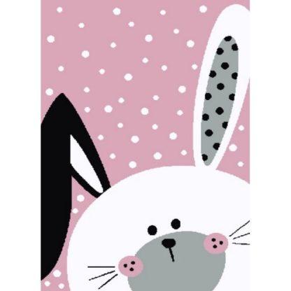 - Vopi Kusový dětský koberec Kiddo 0131 pink