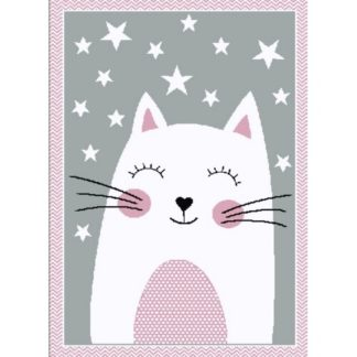- Vopi Kusový dětský koberec Kiddo 0132 pink