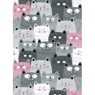 - Vopi Kusový dětský koberec Kiddo 1079 pink