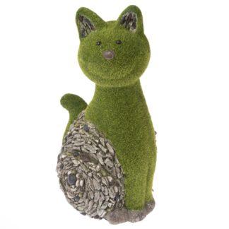 - Zahradní dekorace Mechová kočka
