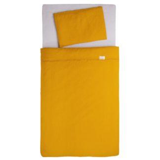 - Babymatex Bavlněné povlečení do postýlky žlutá