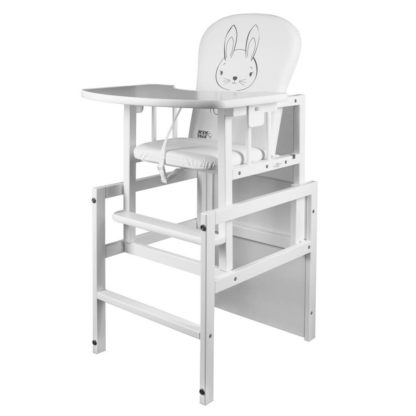 - Borovicová židlička New Baby Králíček bílá - 8596164040423