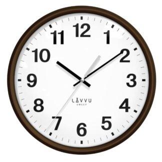 Lavvu - LAVVU ESSENTIAL WOOD LCS4041 nástěnné hodiny - 8596300028841
