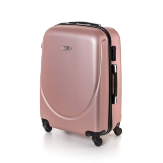 - Pretty UP Kufr na kolečkách ABS16 růžová