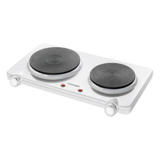 Concept - Concept VE3025 Elektrický dvouplotýnkový vařič smaltový 2250 W - 8595631002742