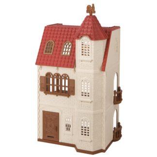 Sylvanian Families - Sylvanian families 5400 dům s věží a červenou střechou - 555954415400