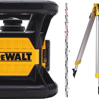 Elektrické nářadí > Měřící technika > Rotační lasery - DeWALT DCK374D1R stavební rotační laser - sada