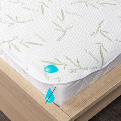 4Home - 4Home Bamboo Nepropustný chránič matrace s gumou