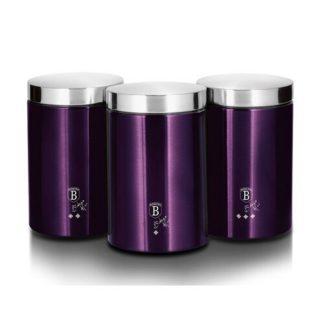 Berlinger Haus - Berlinger Haus 3dílná sada dóz na potraviny Purple Metallic Line - 5999108421068