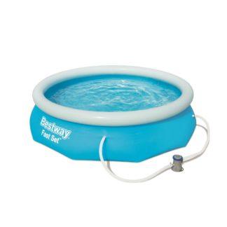 Bestway - Bestway Nadzemní bazén s filtrací Fast Set