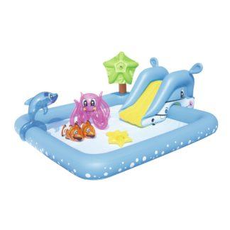 Bestway - Bestway Nafukovací bazének se skluzavkou a mnoha doplňky