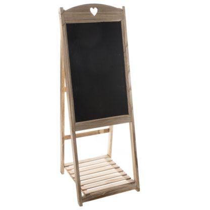- Dřevěná dekorační tabule Hearts