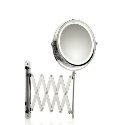 KELA - Kosmetické zrcátko nástěnné s osvětlením VALERIA - 4025457206436